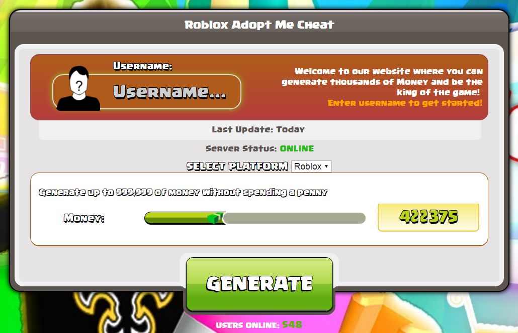 roblox adopt me cheat
