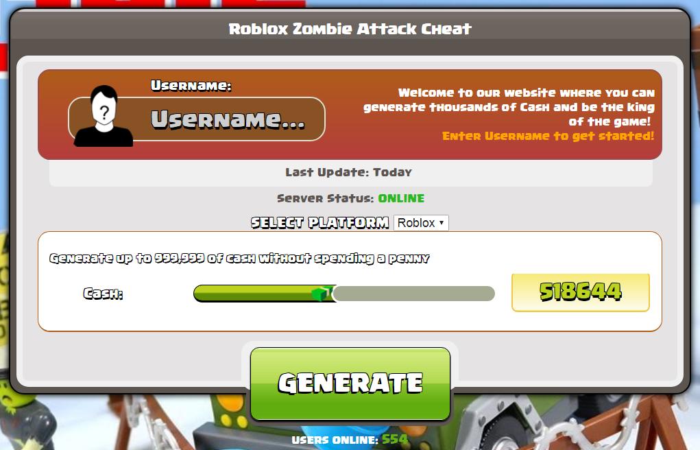 roblox Zombie-Angriff Hack